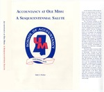 Accountancy at Ole Miss: A Sesquicentennial Salute by Dale L. Flesher