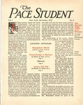 Pace Student, vol.1 no. 1, December, 1915 by Pace & Pace