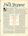 Pace Student, vol.1 no. 5, April, 1916 by Pace & Pace