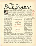 Pace Student, vol.1 no. 9, August, 1916 by Pace & Pace
