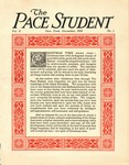 Pace Student, vol.2 no. 1, December, 1916 by Pace & Pace