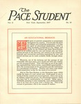 Pace Student, vol.2 no. 10, September, 1917 by Pace & Pace