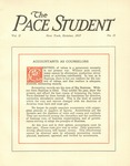 Pace Student, vol.2 no. 11, October, 1917 by Pace & Pace