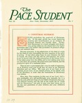 Pace Student, vol.3 no. 1, December, 1917 by Pace & Pace