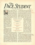 Pace Student, vol.1 no. 10, September, 1916 by Pace & Pace