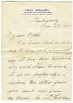 Allan Boyce Adams, Par BCM, Paris, France, To Mrs. Joel Randolph Adams, Claremont, Mississippi. November 29, 1917. by Allan Boyce Adams