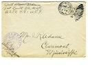 Allan Boyce Adams, F.A. U.S.R., U.S.P.O. 718 A.E.F., To Mrs. Joel Randolph Adams, Claremont, Mississippi. December 16, 1917. by Allan Boyce Adams