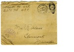 Allan Boyce Adams, F.A. U.S.R., U.S.P.O. 718 A.E.F., To Mrs. Joel Randolph Adams, Claremont, Mississippi. December 22, 1917 by Allan Boyce Adams