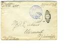 Allan Boyce Adams. F.A. U.S.R. 149th Regiment A.E.F., To Mrs. Joel Randolph Adams, Claremont, Mississippi. March 19, 1918.