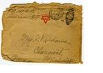 Allan Boyce Adams. F.A. U.S.R. 149th Regiment A.E.F., To Mrs. Joel Randolph Adams, Claremont, Mississippi. May 6, 1918. by Allan Boyce Adams