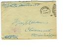 Allan Boyce Adams. F.A. U.S.R. 149th Regiment A.E.F., To Mrs. Joel Randolph Adams, Claremont, Mississippi. June 1, 1918.