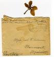 Allan Boyce Adams. F.A. U.S.R. 149th Regiment A.E.F., To Mrs. Joel Randolph Adams, Claremont, Mississippi. May 11 1918. by Allan Boyce Adams