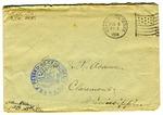 Allan Boyce Adams, F.A. Camp De Souge, A.P.O. 705, A.E.F., France to Mrs. Joel Randolph Adams, Claremont, Mississippi. August 4, 1918. by Allan Boyce Adams