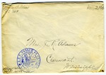 Allan Boyce Adams, F.A. Camp De Souge, A.P.O. 705, A.E.F., France to Mrs. Joel Randolph Adams, Claremont, Mississippi. August 23, 1918. by Allan Boyce Adams