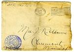 Allan Boyce Adams, F.A. Camp De Souge, A.P.O. 705, A.E.F., France to Mrs. Joel Randolph Adams, Claremont, Mississippi. August 31, 1918. by Allan Boyce Adams