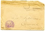 Allan Boyce Adams, F.A. Camp De Souge, A.P.O. 705, A.E.F., France to Mrs. Joel Randolph Adams, Claremont, Mississippi. November 21, 1918. by Allan Boyce Adams