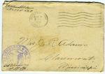 Allan Boyce Adams, F.A. Camp De Souge, A.P.O 705, American E.F., France to Mrs. Joel Randolph Adams, Claremont, Mississippi. December [7], 1918.