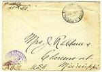 Allan Boyce Adams, F.A. Camp De Souge, A.P.O 705, American E.F., France to Mrs. Joel Randolph Adams, Claremont, Mississippi. December 21, 1918.