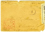 Allan Boyce Adams, F.A. Camp De Souge, A.P.O 705, American E.F., France to Mrs. Joel Randolph Adams, Claremont, Mississippi. December 29, 1918.