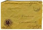 Allan Boyce Adams, F.A. Camp De Souge, A.P.O 705, American E.F., France to Mrs. Joel Randolph Adams, Claremont, Mississippi. December 31, 1918.