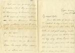 Allan Boyce Adams, F.A. Camp De Souge, France, to Mrs. Joel Randolph Adams, Claremont, Mississippi, January 8, 1919. by Allan Boyce Adams