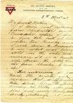 Allan Boyce Adams, Ringeu (Germany), to Mrs. Joel Randolph Adams, Claremont, Mississippi. March 8, 1919. by Allan Boyce Adams
