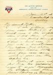 Allan Boyce Adams, Evacuation Hospital #6, Coblenz [SIC] Germany, to Mrs. Joel Randolph Adams, Claremont, Mississippi. January 21, 1919. by Allan Boyce Adams