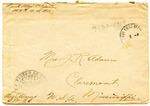 Allan Boyce Adams, Ringeu (Germany), to Mrs. Joel Randolph Adams, Claremont, Mississippi. March 30, 1919. by Allan Boyce Adams