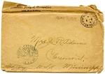 Allan Boyce Adams, Ringeu (Germany), to Mrs. Joel Randolph Adams, Claremont, Mississippi. April 2, 1919. by Allan Boyce Adams