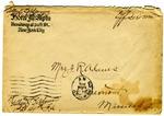 Allan Boyce Adams, Hotel McAlpin New York, New York, to Mrs. Joel Randolph Adams, Claremont, Mississippi. April 26, 1919.