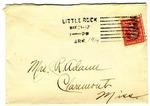 Allan Boyce Adams, Fort Logan, Arkansas, To Mrs. Joel Randolph Adams, Claremont, Mississippi. May 20, 1919. by Allan Boyce Adams