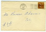 Bob and Lenora ?, Clarksdale, Mississippi, To Mr. Rivers E. Adams, Clarksdale, Mississippi. December 16, 1946.