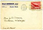 Rivers E. Adams, Villa Goodrich Hotel, Sarasota, Florida, To Mrs. Joel Randolph Adams, Claremont, Mississippi. February 13, 1947.