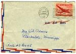 Rivers E. Adams, Villa Goodrich Hotel, Sarasota, Florida, To Mrs. Joel Randolph Adams, Claremont, Mississippi. February 16, 1948 by Rivers E. Adams