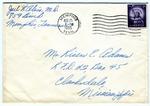 Joel L. Alvis, M.D., Memphis, Tennessee, To Mr. Rivers E. Adams, (Claremont) Clarksdale, Mississippi. August 25, 1955. by Joel L. Alvis
