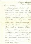 Allan Boyce Adams, Ringeu (Germany), to Mr. Joel Randolph Adams, Claremont, Mississippi. February 19, 1919. by Allan Boyce Adams