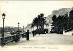 Allan Boyce Adams, Ringeu (Germany), to Mrs. Joel Randolph Adams, Claremont, Mississippi. February 26, 1919. Postcard. (Scenic Postcard: Monte-Carlo) by Allan Boyce Adams