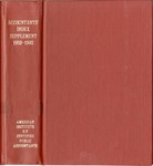 Accountants' index. Fourteenth supplement, a bibliography of accounting literature, January 1959-December 1960 (Inclusive) by American Institute of Certified Public Accountants and Katherine I. Michaelsen