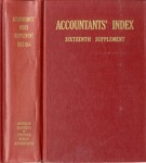 Accountants' index. Sixteenth supplement, a bibliography of accounting literature, January 1963-December 1964 (Inclusive) by American Institute of Certified Public Accountants and Katherine I. Michaelsen