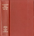 Accountants' index. Seventeenth supplement, a bibliography of accounting literature, January 1965-December 1966 (Inclusive) by American Institute of Certified Public Accountants and Katherine I. Michaelsen