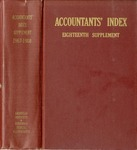 Accountants' index. Eighteenth supplement, a bibliography of accounting literature, January 1967-December 1968 (Inclusive) by American Institute of Certified Public Accountants and Katherine I. Michaelsen
