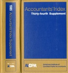 Accountants' index. Thirty-fourth supplement, January-December 1985, volume 1: A-L
