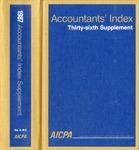 Accountants' index. Thirty-sixth supplement, January-December 1987, volume 2: M-Z