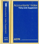Accountants' index. Thirty-ninth supplement, January-December 1990, volume 2: M-Z