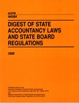 Digest of state accountancy laws and state board regulations - 2000 by American Institute of Certified Public Accountants and National Association of State Boards of Accountancy