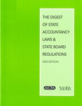 Digest of state accountancy laws and state board regulations - 2002 by American Institute of Certified Public Accountants and National Association of State Boards of Accountancy
