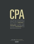 AICPA annual report 2007-08; CPA by American Institute of Certified Public Accountants