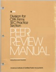Peer review manual: instructions and checklists