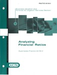 Analyzing financial ratios; AICPA practice aid series 06-3 by American Institute of Certified Public Accountants. Business Valuation and Forensic & Litigation Services Section