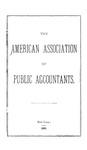 American Association of Public Accountants